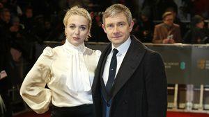 Amanda Abbington und Martin Freeman auf einer Preisverleihung in London