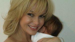 Amanda Holden: Intimes Foto mit ihrem Baby