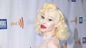 Amanda Lepore blass und vollbusig in New York