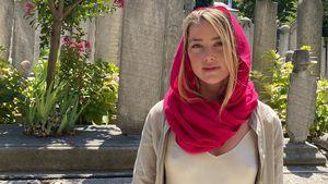 Nippelblitzer in der Moschee: Mega-Shitstorm für Amber Heard