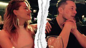 Nach Reunion: Amber Heard & Elon Musk wieder getrennt