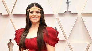 America Ferrara strahlend mit XXL-Babybauch bei den Oscars