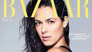 """Ana Ivanovic auf dem Cover der """"Harper's Bazaar"""""""