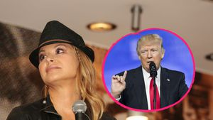 Anastacia und Donald Trump