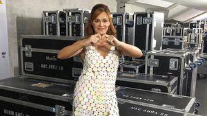 Heißer Feger: Andrea Berg zeigt sich im sexy Mini-Kleid!