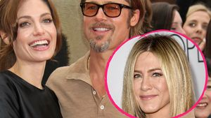 Angelina Jolie, Brad Pitt und Jennifer Aniston