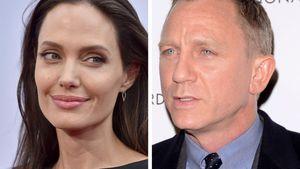 Verliebt in 007-Daniel Craig: Flirtet Angelina Jolie fremd?