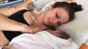 Foto-Vergleich: Bachelor-Angies Baby sieht ihr mega-ähnlich