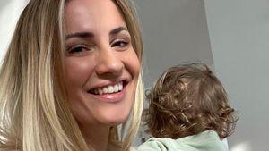 """""""Alles was zählt""""-Ania strahlt mit Tochter Paula auf dem Arm"""