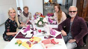 Anna Heesch, Tanja Schumann, Joelina Drews und Nino de Angelo