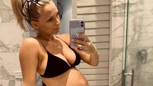 XXL-Bauch: Schwangere Anna Heinrich passt in nichts mehr!
