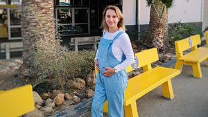 Neues Babybauch-Update: Anna Heiser ist schon richtig rund
