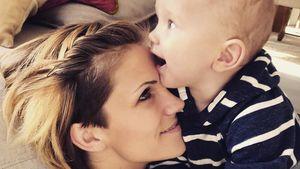 Mit Tiertorte: Anna-Maria feierte Mattis ersten Geburtstag
