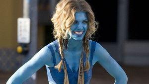 Die sieht Blau! AnnaLynne McCord als Avatar
