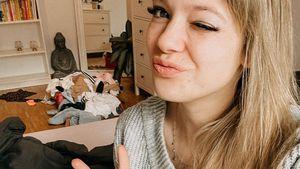 Kleiner, aber mit Garten: Anne Wünsche zeigt neue Wohnung