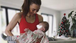 Sexy und fit wie nie: Annett Möller sportelt mit Baby!