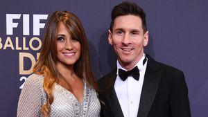 Antonella Roccuzzo und Lionel Messi bei der FIFA Ballon d'Or Gala in Zürich 2016