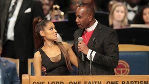 Bei Aretha-Trauerfeier: Ariana Grande am Busen begrapscht!