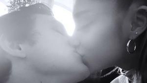 Ariana Grande zeigt Knutschfoto mit Freund Dalton im Netz