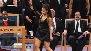 Aretha Franklins Trauerfeier: Ariana Grandes Kleid zu kurz?