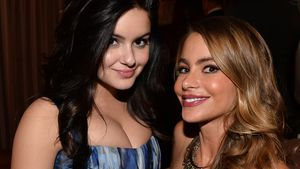 Ariel Winter (links) und Sofia Vergara bei einem Event in Hollywood