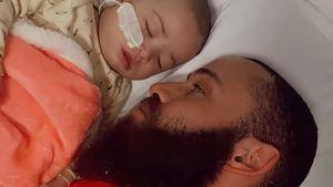 Zwei Tage blind: Ashley Cains Tochter kann wieder sehen!