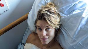 Mit süßem Pic: Neu-Mama Ashley James teilt Geburtsbericht
