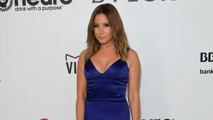 Ashley Tisdale bei Elton Johns Oscar Party