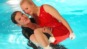 Ania Niedieck und Katy Karrenbauer