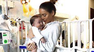 Virus-Erkrankung überstanden: Sarah Stage & Baby dürfen heim