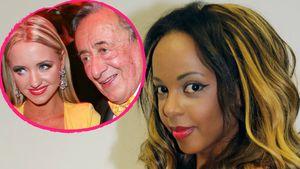 Bahati Venus und Richard Lugner mit Cathy Schmitz