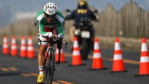 Bahman Golbarnezhad, iranischer Radrennfahrer