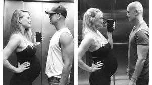 Doppelter Baby-Bump: Bar Refaeli macht Schwanger-Vergleich!