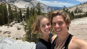 Zwei Jahre Liebe: Süßes Selfie von Dylan Sprouse und Barbara