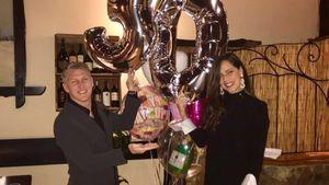 Mit Riesen-Ballons: So süß feiert Schweini Anas Geburtstag!
