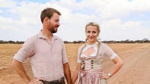 Wiesn statt Savanne! Gerald und Anna feiern Oktoberfest