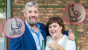Sommerhaus-Wette eingelöst: Bauer Uwe und Iris haben Tattoos
