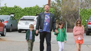 Ben Affleck mit seinen Kids in L.A.