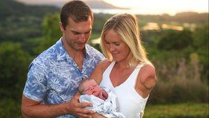 Ein Junge! Surferin Bethany Hamilton ist Mama