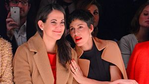 Berlin Fashion Week, Bettina Zimmermann und Jasmin Gerat