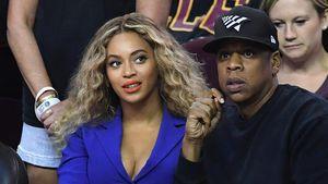 Beyoncé und Jay-Z bei einem Basketballspiel in Ohio