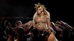 Sängerin Beyoncé bei ihrem Grammy-Auftritt 2017