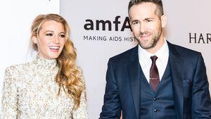 Blake Lively und Ryan Reynolds total happy