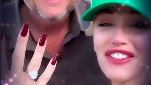 Jahrestag: Gwen Stefani teilt bisher privaten Verlobungsclip