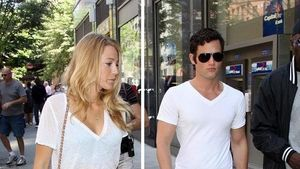 Blake Lively und Penn Badgley