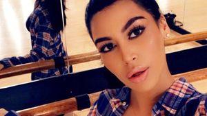 Bloggerin Sonia Ali im Kim-Kardashian-Look