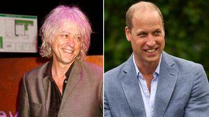 """Bob Geldof sah Prinz William früher als """"grässliches Kind"""""""
