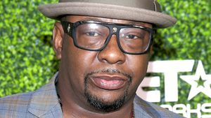Bobby Brown bei einer Party in Hollywood