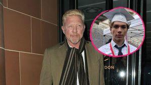 Boris Becker mega-happy: Sein Elias schließt die Schule ab