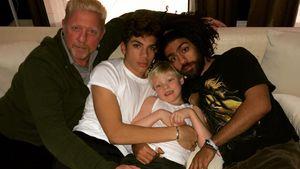 Stolzer Papa: Boris Becker schickt Liebesgrüße an seine Kids